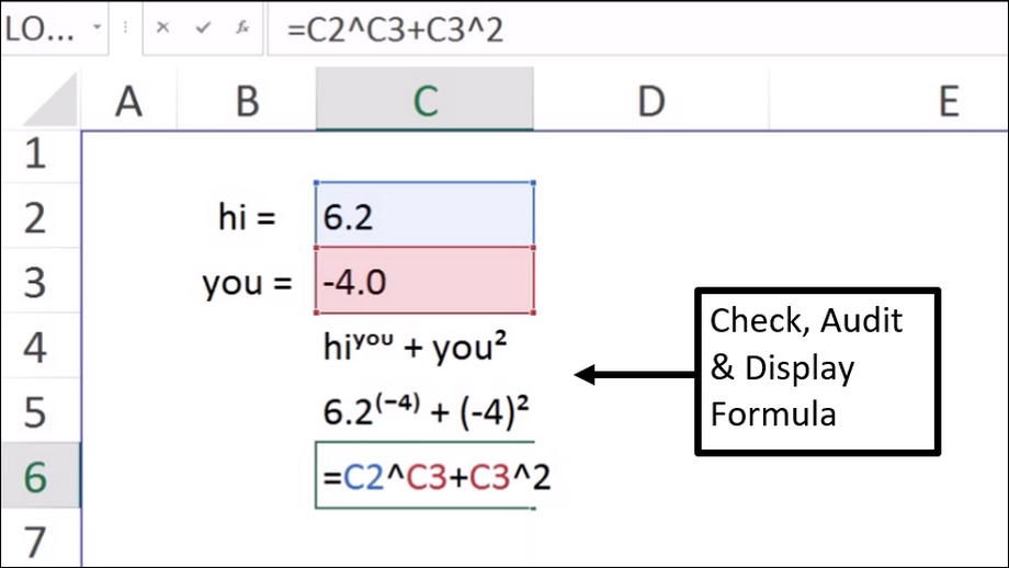 Excel Formula Auditing Functions – The One Step Solution to Formula Auditing in Excel