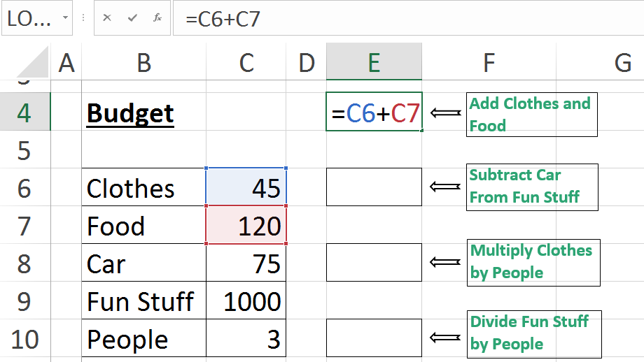 Learn Excel in 15 Seconds-How to use Cell-References in Formulas